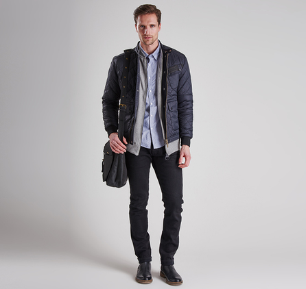 Barbour MQU0714BK91 Cruiser Tailored Fit QuiltedJacket