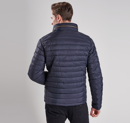 Barbour MQU0717BK11 V Twin Tailored Fit Quilted Jacket