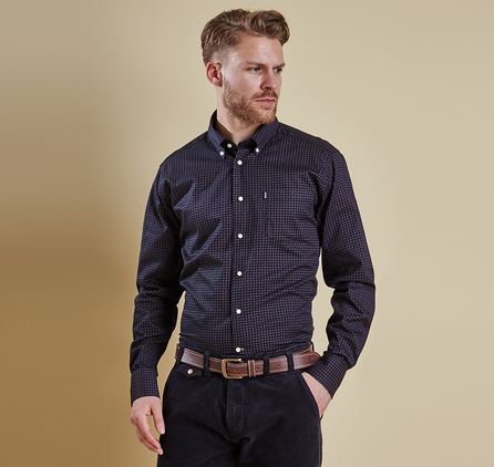 Barbour MSH3546NY94 Roy Paisley Tailored Fit Shirt