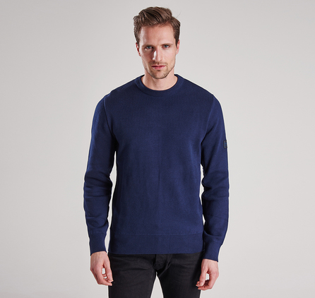 Barbour MKN0851NY91 Throttled Crew Neck Jumper