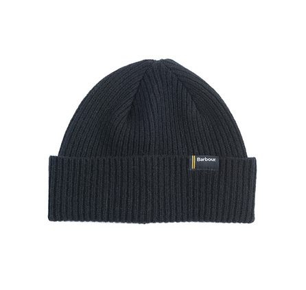 Barbour MHA0314BK11 International Beanie Black