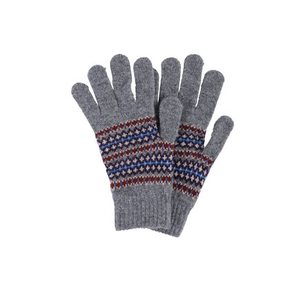 Barbour MGL0029GY51 Dunkeld Gloves Grey Marl