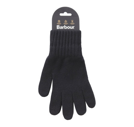 Barbour MGL0006BK11 Lambswool Gloves Black