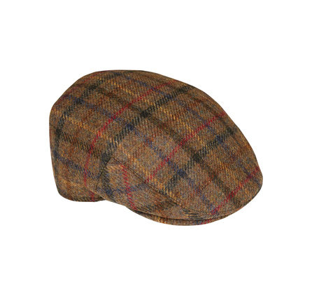 Barbour MHA0295OL31 Moons Tweed Cap Olive Bright Plaid