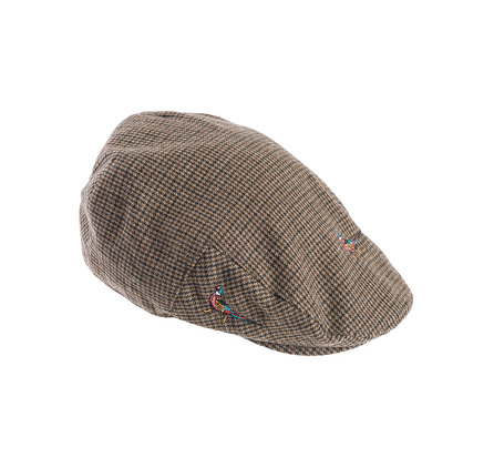 Barbour MHA0297BR53 Pheasant Flat Cap Brown Check