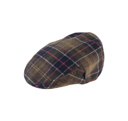 Barbour MHA0049TN11 Wool Tartan Cap Classic