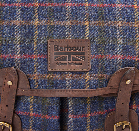Barbour UBA0303NY35 Tweed Tarras Bag Navy