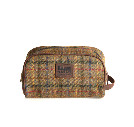 Barbour UBA0317OL51 Tweed Wash Bag Olive