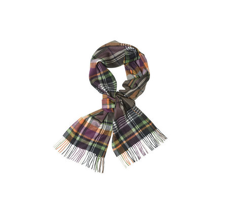 Barbour USC0105OL31 Bright Country Plaid Scarf