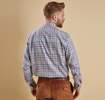Barbour MSH3561GY52 Ronald Tailored Fit Shirt