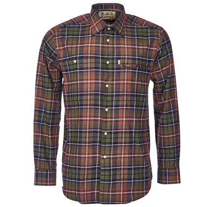 Barbour MSH3570OR34 Kirkby Shirt Outlet