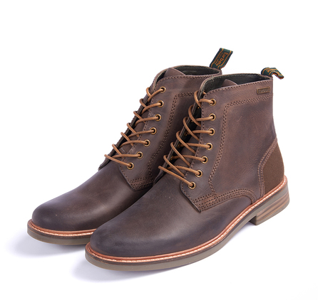 Barbour MFO0282BR72 Byker Boot Dark Brown