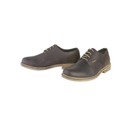 Barbour MFO0195BR51 Cottam Derby Shoe Dark Brown