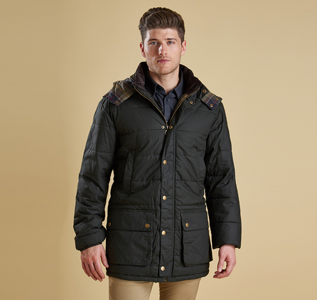 Barbour MQU0497OL31 Hemmingford Quilted Jacket