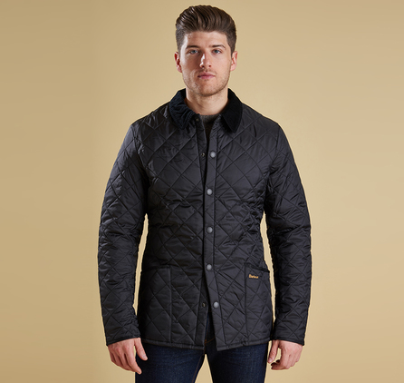 Barbour MQU0240BK11 Heritage Liddesdale Quilted Jacket