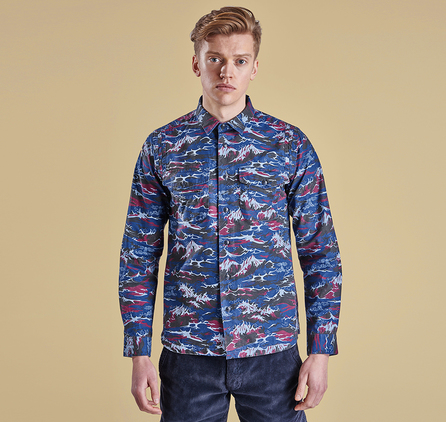 Barbour MSH3599NY91 Edenkawa Shirt Navy
