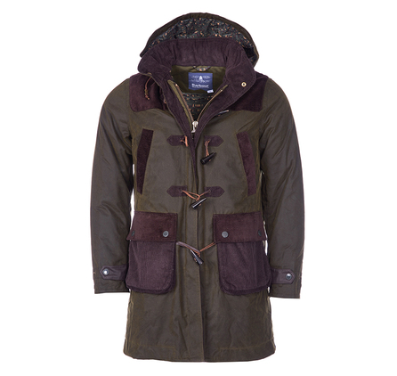 Barbour MWX0916OL71 Finhara Wax Jacket Olive