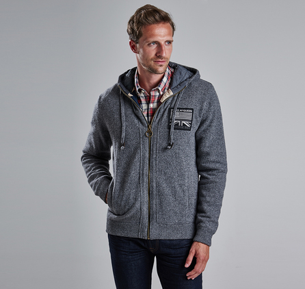 Barbour MKN0751GY71 Hendley Hoodie Outlet