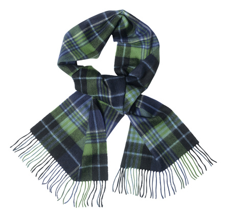 Barbour USC0106BL71 Country Check Scarf Blue/Green