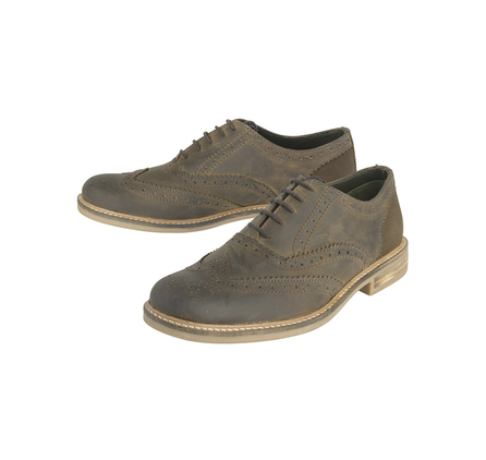 Barbour MFO0272BR91 Readcar Oxford Brogue Dark Brown