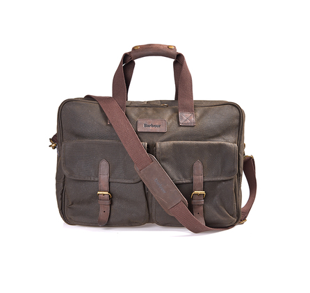 Barbour UBA0359OL71 Wax Duxford Bag Olive
