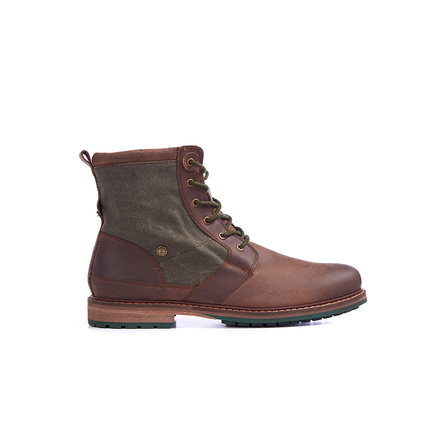 Barbour MFO0286BR71 Whitburn Boot Dark Brown
