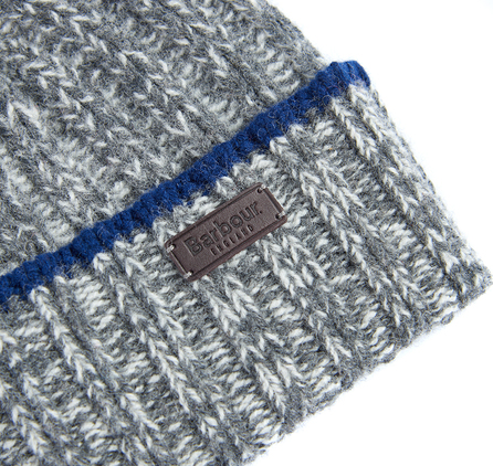 Barbour MHA0341GY31 Franklin Beanie Grey/Pearl