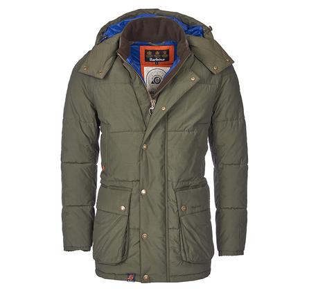 Barbour MQU0703OL51 Hoola Quilted Jacket Olive