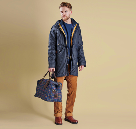 Barbour MWX0909NY92 Kellen Wax Jacket Navy