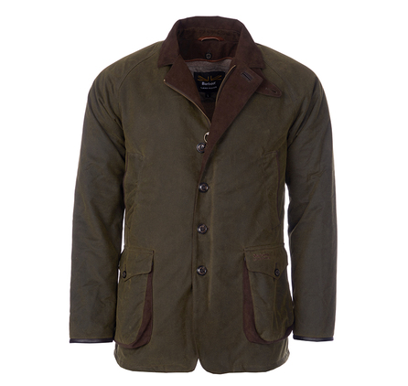 Barbour MWX0922OL51 Driver Wax Jacket Olive