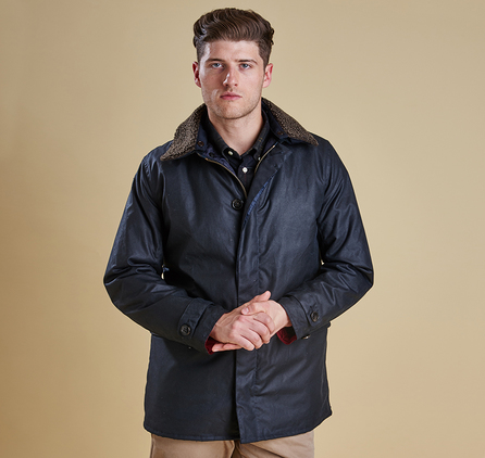 Barbour MWX0898NY71 Arding Wax Jacket Navy