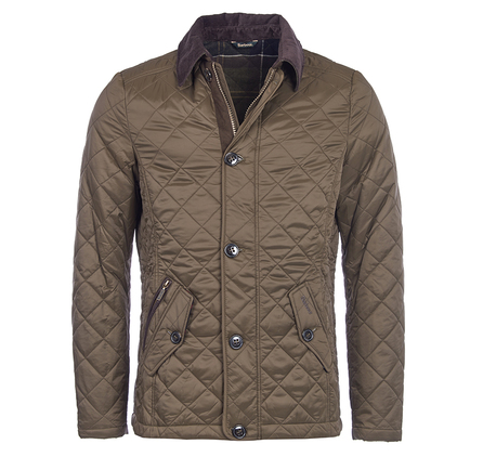 Barbour MQU0692OL71 Fortnum Quilted Jacket Olive