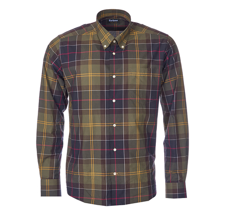 Barbour MSH3584TN11 Glen Shirt Tartan