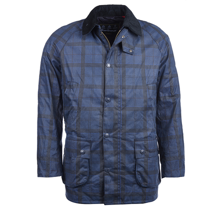 Barbour MWX0894BL71 Hemming Wax Jacket Dark Blue
