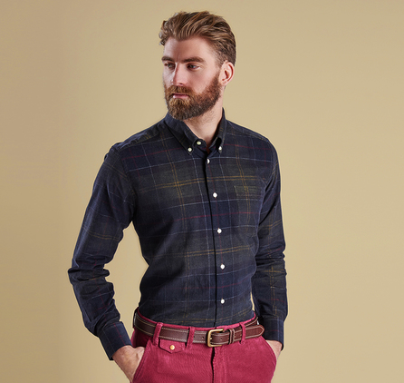 Barbour MSH3544TN11 Lawerence Tailored Shirt Tartan