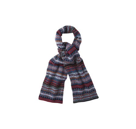 Barbour USC0112BL35 Melrose Scarf Blue Multi