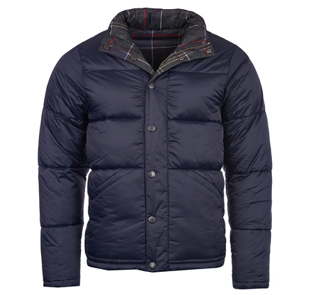 Barbour MQU0693NY91 Piquet Quilted Jacket Navy