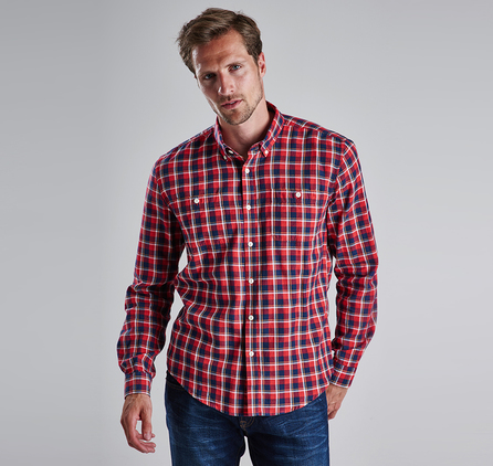 Barbour MSH3210NY91 Cabell Shirt Navy