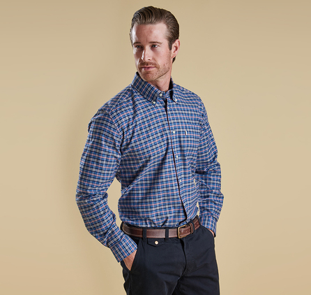 Barbour MSH2981BL51 Bisley Shirt Blue