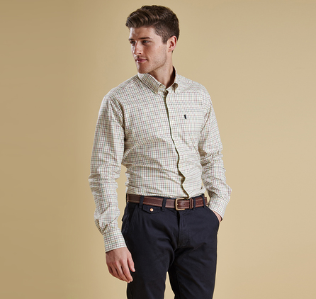 Barbour MSH3287GN32 Charles Shirt Outlet