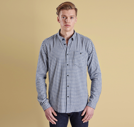 Barbour MSH3573NY91 Craster Slim Fit Shirt Navy