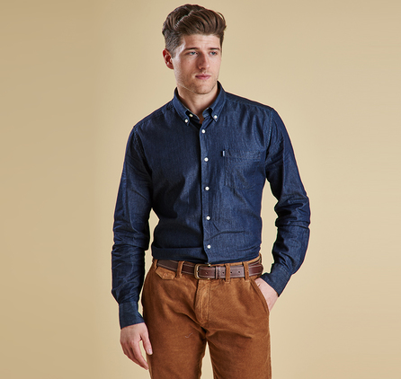 Barbour MSH3227IN71 Hudson Shirt Outlet