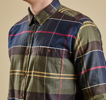 Barbour MSH3271TN11 Johnny Shirt Outlet