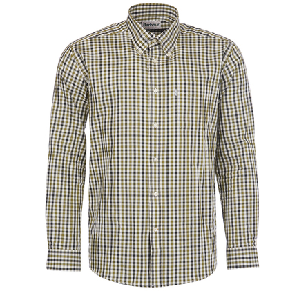 Barbour MSH2124GN91 Lodge Shirt Forest Green