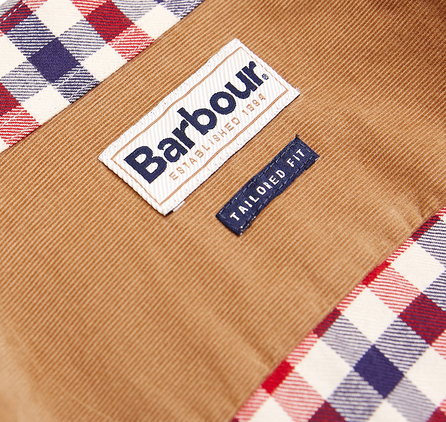 Barbour MSH3226RE51 Moss Shirt Red