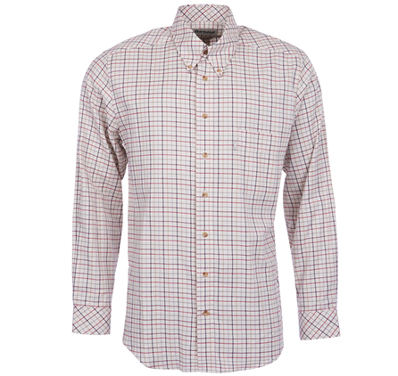 Barbour MSH0192RE51 Scotland Check 2 Shirt Red