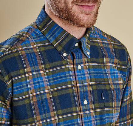 Barbour MSH3290BL56 Castlebay Tailored Fit Shirt