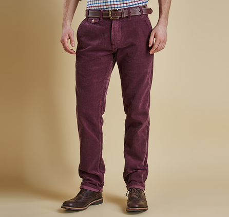 Barbour MTR0502RE94 Neuston Fine Cord Trousers