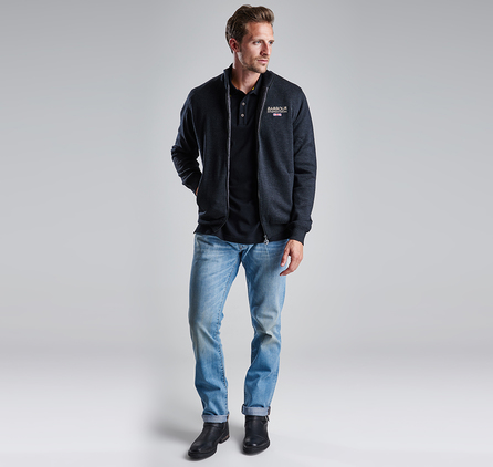 Barbour MTR0453NY78 Cyclone Slim Bleach/Stone Wash