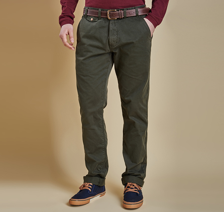 Barbour MTR0465GN91 Neuston Twill Chino Forest